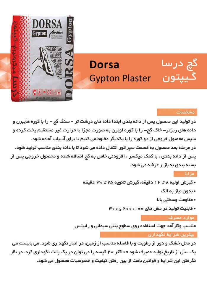 doorsa gypton plaster katalog